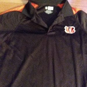 Bengals colored shirt lightly used